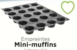 mini muffin - Guy Demarle